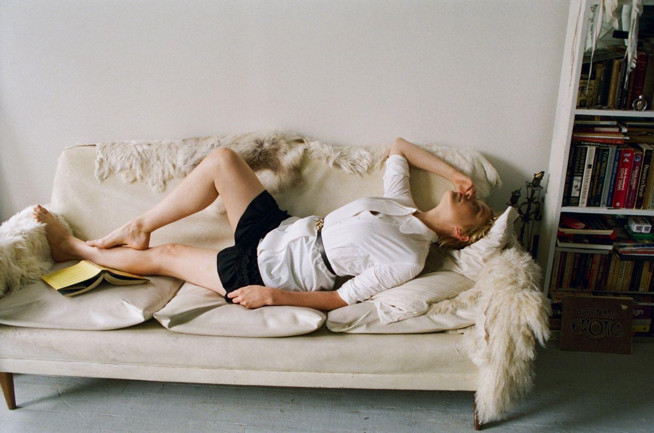 Greta Gerwig Photoshoot For Dazed Magazine September 2015