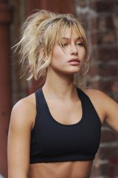 Hailey Baldwin - On Set of a Photoshoot in NYC, September 2015