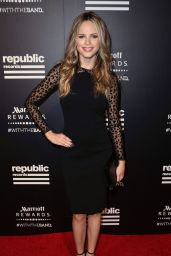 Halston Sage - 2015 Republic Records VMA After Party in West Hollywood