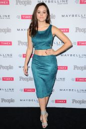 Hayley Orrantia – PEOPLE's Ones To Watch Event in West Hollywood, September 2015