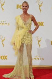 Heidi Klum – 2015 Primetime Emmy Awards in Los Angeles