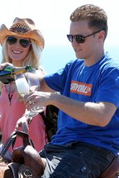Heidi Montag - Horseback Riding With Spencer Pratt -  Celebrate Heidi