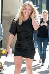 Hilary Duff Hot Style - Heading to the Set of
