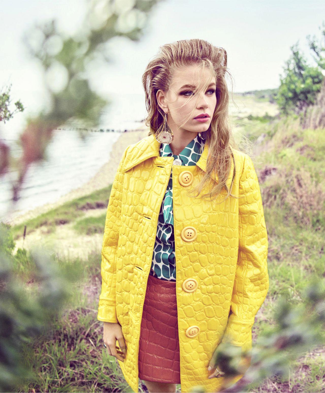 0fbde004127f Holly May Saker - Photoshoot for Harper s Bazaar US October 2015