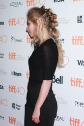 Imogen Poots - Green Room Premiere at Toronto International Film Festival