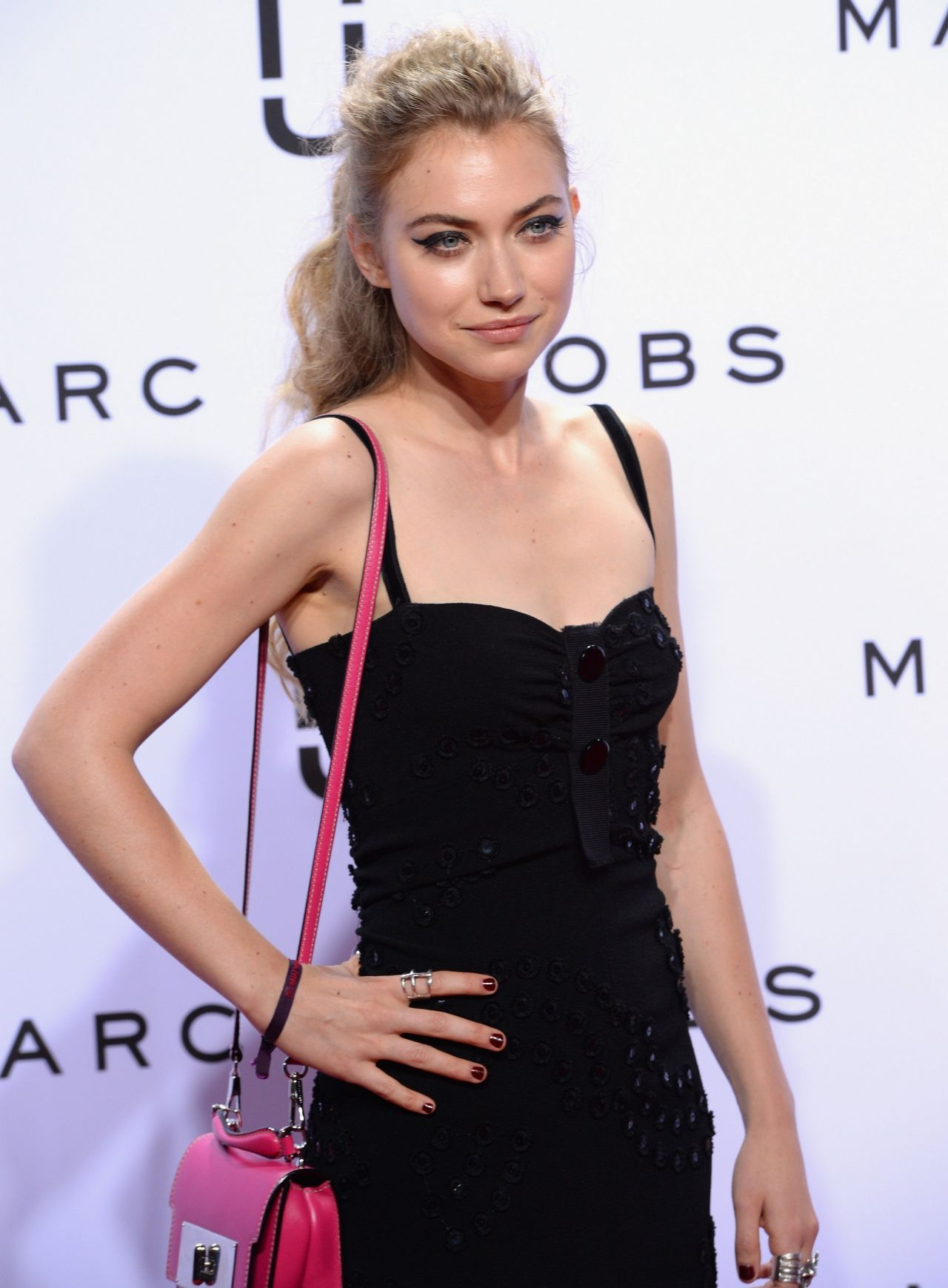 Audi Virginia Beach >> Imogen Poots - Marc Jacobs Spring 2016 Fashion Show in New ...