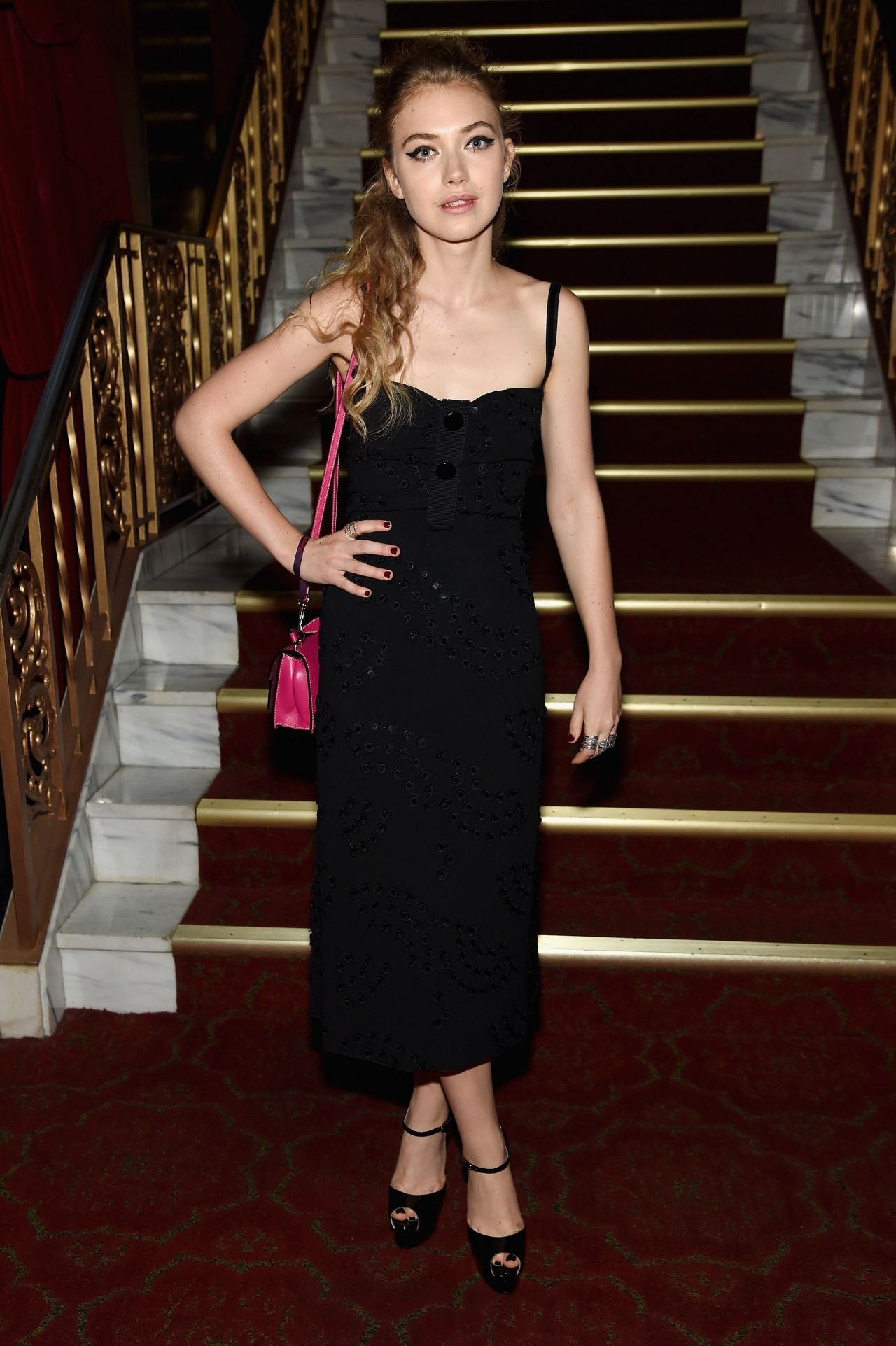 Imogen Poots Marc Jacobs Spring 2016 Fashion Show In New