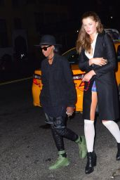 Ireland Baldwin Night Out Style - Leaving a Club in New York, September 2015