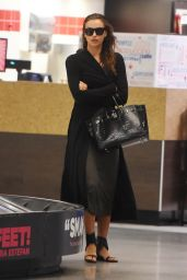 Irina Shayk Airport Style - JFK Airport in NYC, September 2015