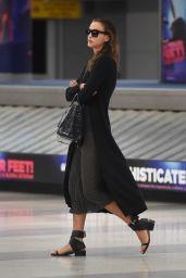 Irina Shayk Airport Style - JFK Airport in NYC, September 2015