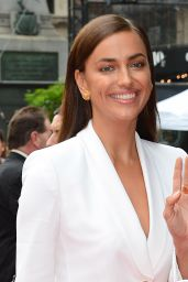 Irina Shayk - Arrives to The Porcelanosas Store in New York, September 2015