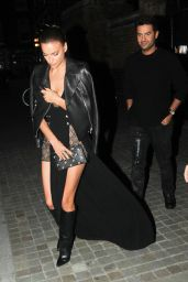 Irina Shayk - Chiltern Firehouse in London, September 2015