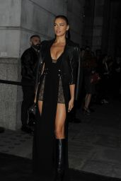 Irina Shayk – Versus Show at London Fashion Week, September 2015