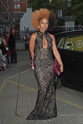 Jade Avia – LFW S/S 2016 Sorapol Catwalk Show Arrivals – London, September 2015