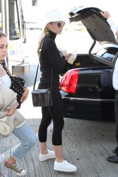 Jaime King at LAX Airport, September 2015