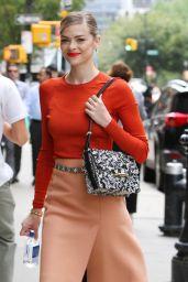 Jaime King Street Fashion - Out in New York City, September 2015