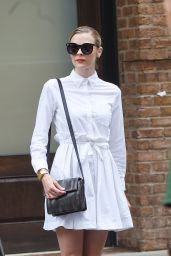 Jaime King Style - Out in NYC, September 2015