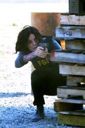 Jaimie Alexander - On the Set of