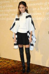 Jamie Chung - Alice + Olivia by Stacey Bendet Fashion Show, September 2015