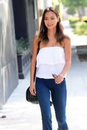 Jamie Chung - Out in Beverly Hills, September 2015