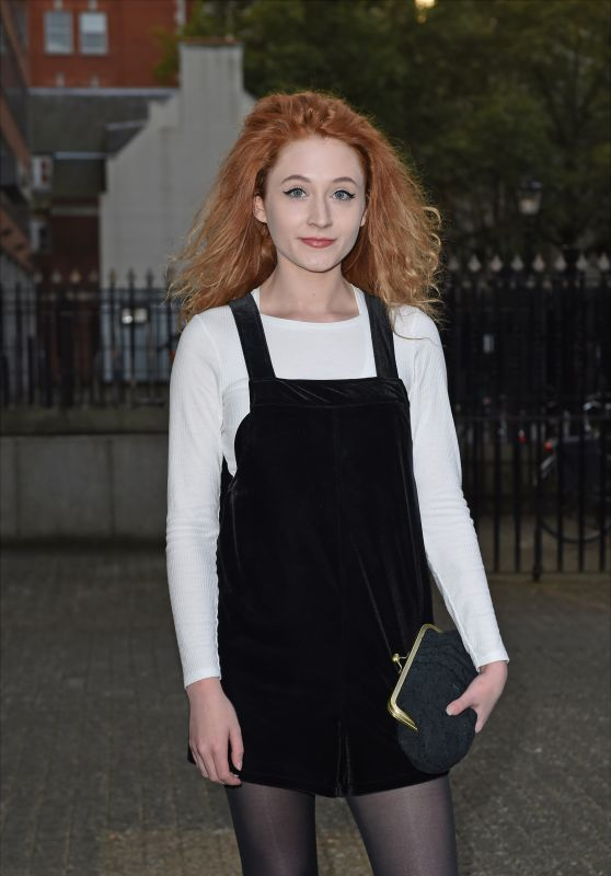 Janet Devlin – LFW S/S 2016 Sorapol Catwalk Show Arrivals – London, September 2015