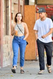 Jena Malone - Out in Los Angeles, September 2015