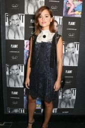 Jenna-Louise Coleman - FLAUNT Magazine New Issue Launch Party in London, September 2015