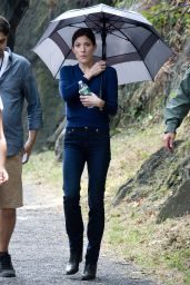 Jennifer Carpenter - On the Set of Limitless in New York, September 2015