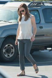 Jennifer Garner at the Farmer