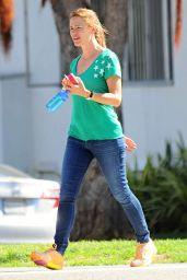 Jennifer Garner - Running Errands in Santa Monica, September 2015