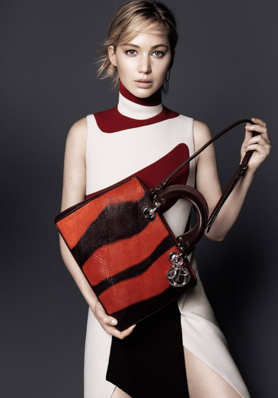 Jennifer Lawrence - Be Dior Bag Campaign Autumn Winter 2015