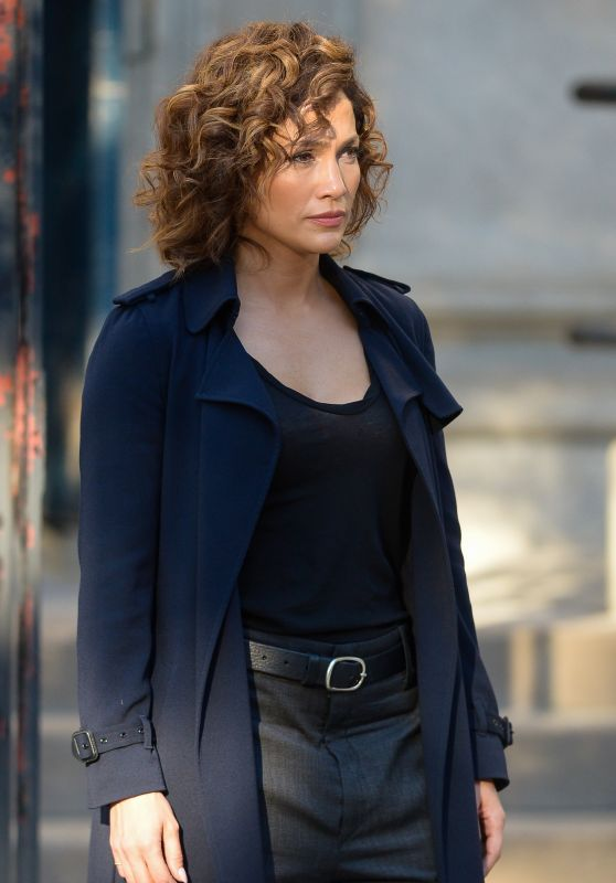 Jennifer Lopez - Filming Shades Of Blue In New York City, September 2015