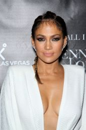 Jennifer Lopez Style - Hosting A Residency Launch Party in Las Vegas, September 2015