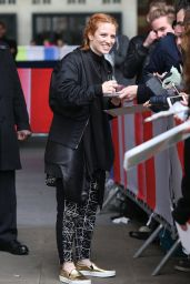Jess Glynne at BBC Radio One, September 2015