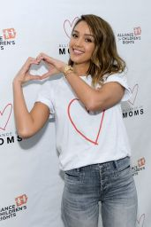 Jessica Alba - Alliance of Moms Presents Raising Baby, September 2015