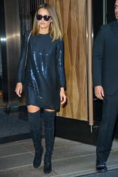 Jessica Alba Fashion - Out in New York City, September 2015