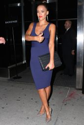 Jessica Alba - Narciso Rodriguez Show at Spring 2016 NY Fashion Week