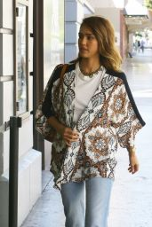 Jessica Alba Street Style - Out in Hollywood, September 2015