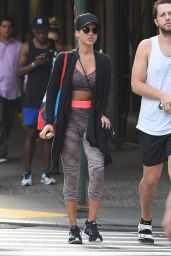 Jessica Alba Street Style - Out in NYC, September 2015