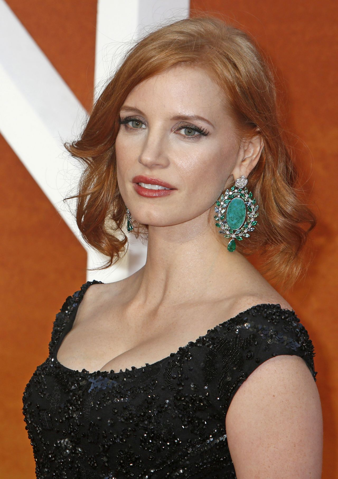 Jessica Chastain on Red Carpet - 'The Martian' Premiere in ... Jessica Chastain