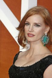 Jessica Chastain on Red Carpet -