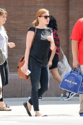 Jessica Chastain - Out in NYC, August 2015