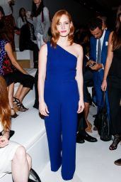 Jessica Chastain - Ralph Lauren Fashion Show at New York Fashion Week, September 2015