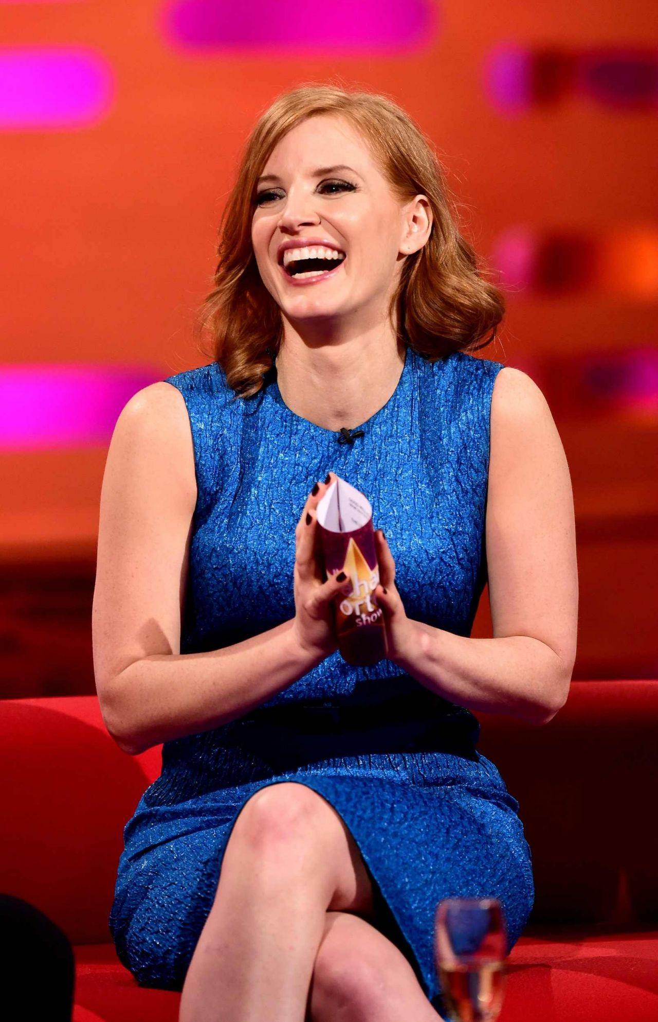 Jessica Chastain The Graham Norton Show In London