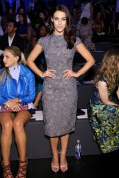 Jessica Lowndes - Monique Lhuillier Fashion show at NYFW, September 2015