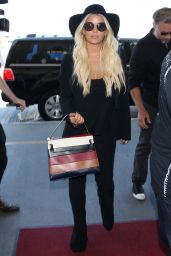 Jessica Simpson - LAX Airport in LA, September 2015