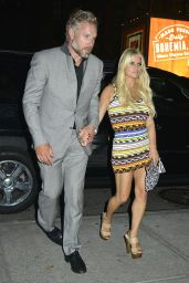 Jessica Simpson Night Out Style - New York City, September 2015