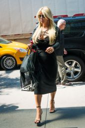 Jessica Simpson Style - Out in New York City, September 2015