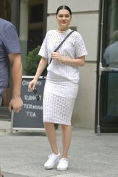 Jessie J Casual Style - Out in New York City, September 2015