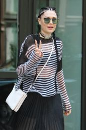 Jessie J Casual Style - Out in NYC, September 2015